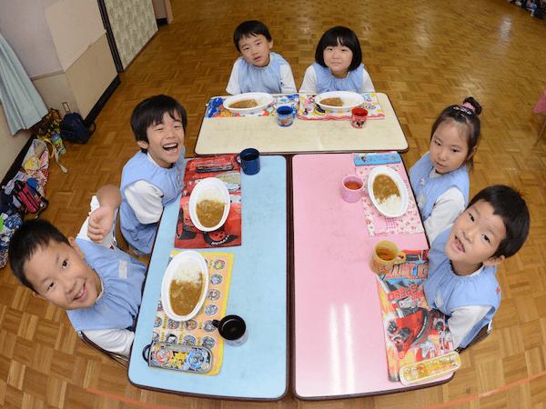 ひなご幼稚園の一日
